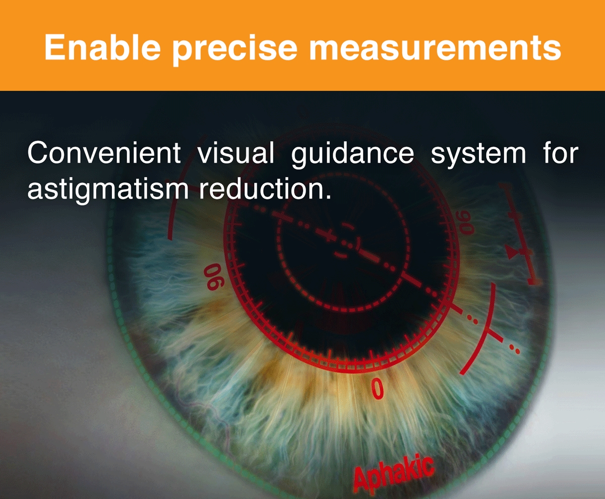 Enable precise measurements