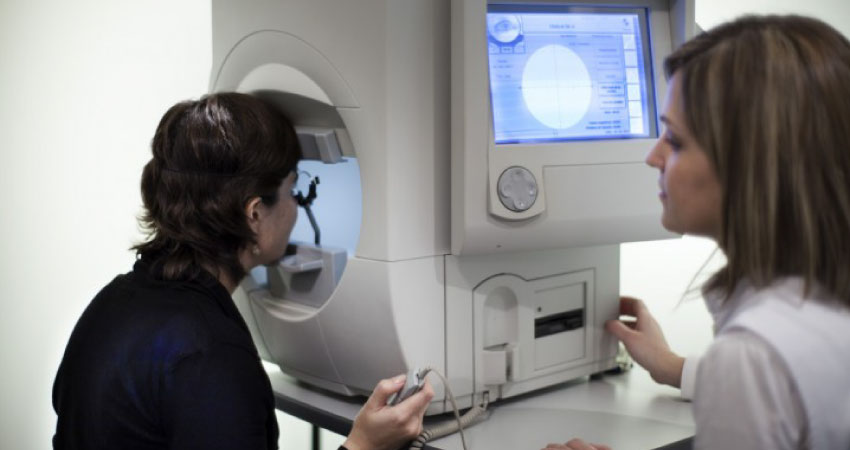 Glaucoma Visual Field Testing
